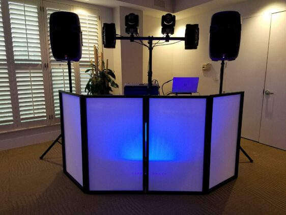 wedding receptions, proms, home comings, dj booth, uplighting, naples, ft myers, port charlotte, fl